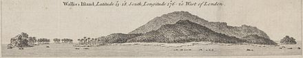 Coastal view of Wallis island by captain James Cook in 1773 Coastal view of Wallis Island by Cook (1773).jpg