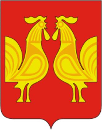 Petushki, Vladimir Oblast - Image: Coat of Arms of Petushki (Vladimir oblast)