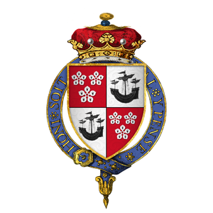 James Hamilton, 2nd Marquess of Hamilton - Arms of James Hamilton, 2nd Marquess of Hamilton
