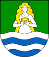 Coat of arms of Dudince.png