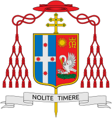 Coat of arms of George Pell.svg