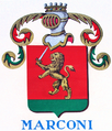 Coat of arms of the House of Marconi.png
