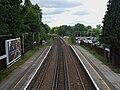 Cobham & Stoke D'Abernon stn high southbound.JPG