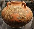 Coclé (panama), vaso in stile macaracas, con divinità o alligatore, 850-1100 dc ca. 02.jpg