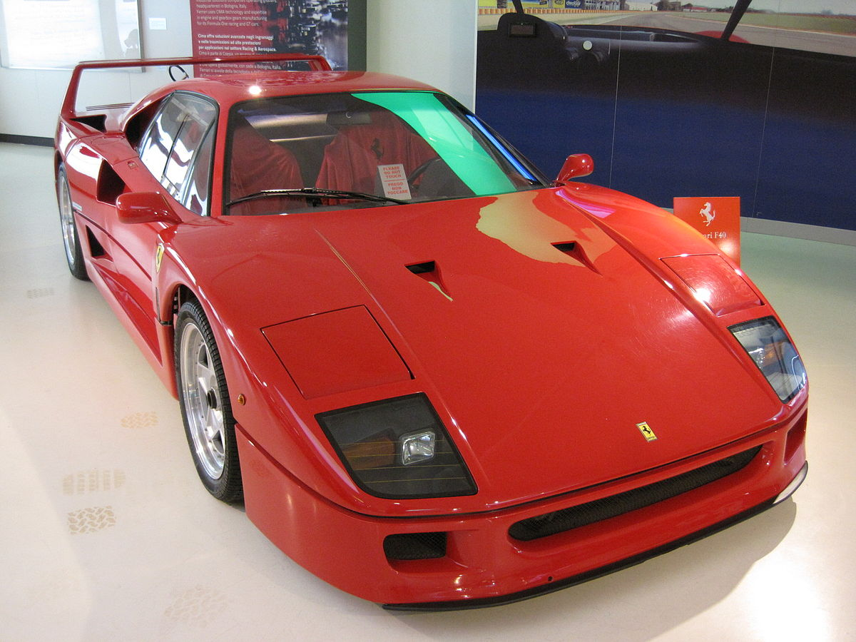 ferrari f40 wikipedia. Black Bedroom Furniture Sets. Home Design Ideas