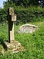 Colonel George Greenwood's unusual gravestone, Hinton Ampner - geograph.org.uk - 188039.jpg