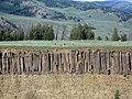 Columnar Basalt at Yellowstone River Overlook DyeClan.com - panoramio.jpg