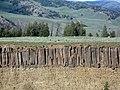 Columnar Basalt at Yellowstone River Overlook DyeClan.com - panoramio.jpg
