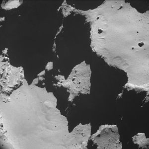 Comet 67P on 20 October 2014 NavCam D.jpg