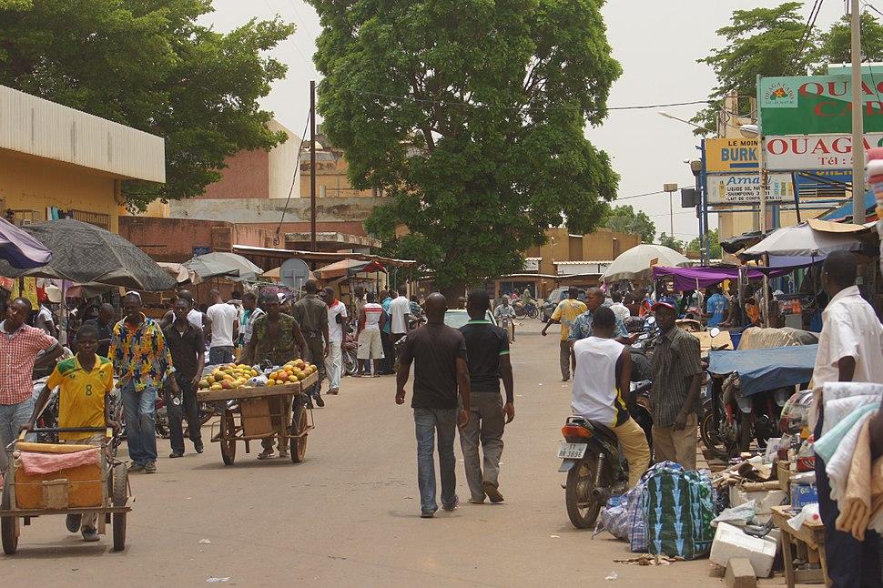 Commerçants-Ouagadougou