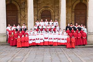 All Saints' Church, Northampton - The choirs of All Saints' Church