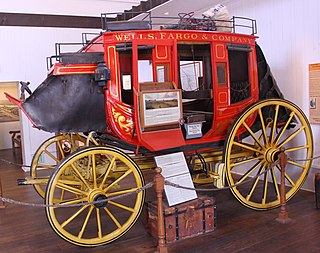 Stagecoach type of covered wagon
