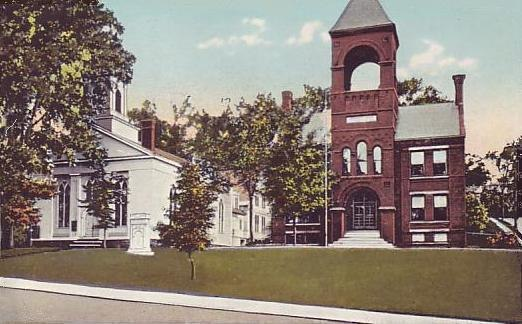 Congregational Church & Town Hall, Plymouth, NH