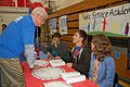 Congressman George Miller visits Clayton Valley Charter High School to celebrate the historic approval of the Clayton Valley Charter conversion. (6872960883).jpg
