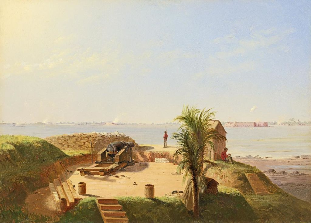 File:Conrad Wise Chapman - Battery Marion, Nov. 4, 1863 ...