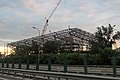 Construction site of New Qinghe Railway Station (20180816054101).jpg
