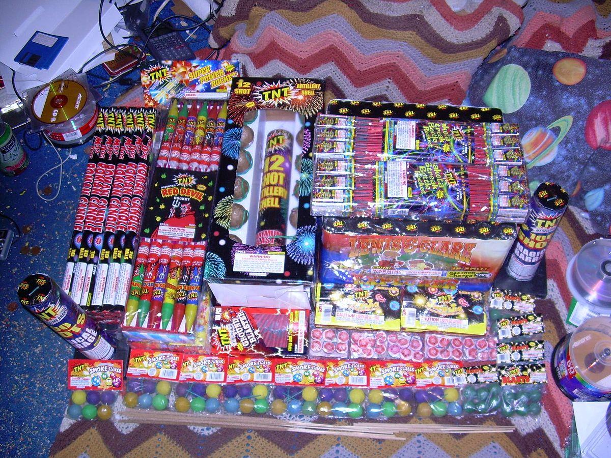 Best Backyard Fireworks consumer fireworks - wikipedia