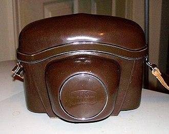 Contaflex SLR - Contaflex Super B Zeiss Ikon leather case
