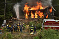 Controlled burn of cabin at University of Alaska Southeast.jpg