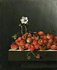Still life with wild strawberries, by Adriaen Coorte
