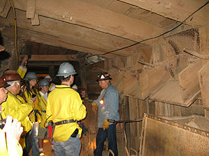 Copper Queen Mine - Copper Queen Mine Tour, Sept 2008