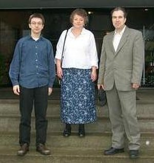 Hilbert's tenth problem - Alexandra Shlapentokh (middle) in 2003
