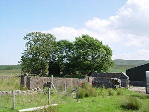 Corriechatachan - Corriechatachan ruins, July 2003