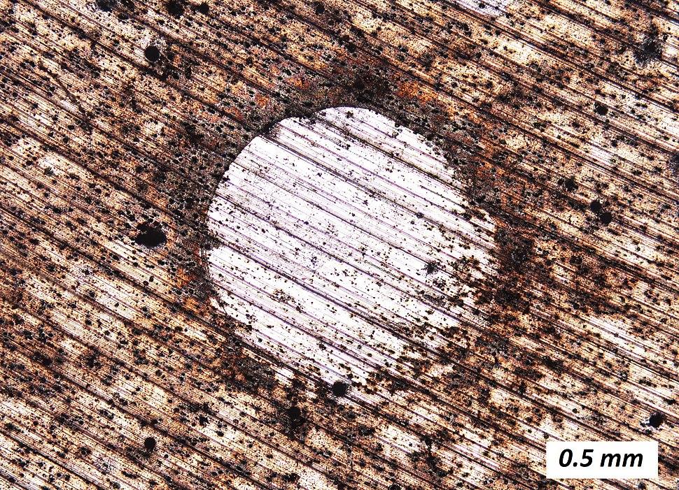 Corrosion of Duralumin