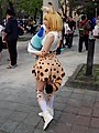 Cosplayer of Serval, Kemono Friends at CWT48 20180303b.jpg