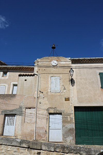 Coulobres (Hérault) - tour-horloge
