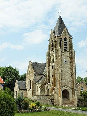 Église Sainte-Benoîte de Craonnelle