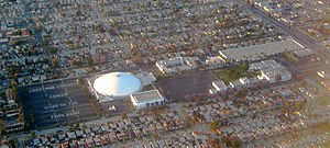 Crenshaw Christian Center - Crenshaw Christian Center from the air
