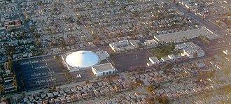 Crenshaw Christian Center - Image: Crenshaw Christian Center from air