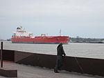 Crescent Park NOLA Mch2014 River Watching Ship.jpg