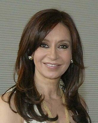 2007 Argentine general election - Image: Cristina fernandez de kirchner cropped 2007 04 25