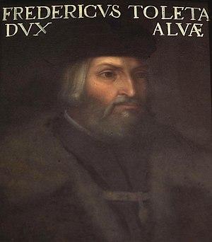 Fadrique Álvarez de Toledo, 2nd Duke of Alba - Image: Cristofano dell'Altissimo Fadrique Álvarez de Toledo y Enríquez