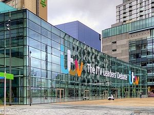 United Kingdom general election debates, 2015 - The ITV Leaders' Debate held at MediaCityUK, Salford Quays