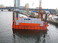 Crossrail works at West India Quay July 2007 GJ2.jpg
