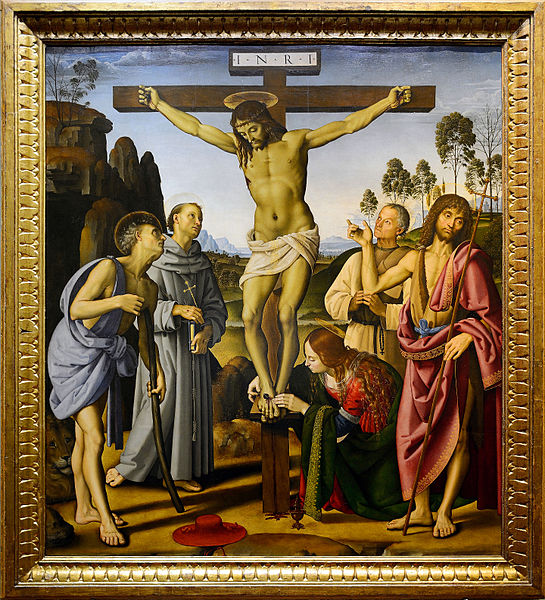 File:Crucifixion of Christ by Pietro Perugino.jpg