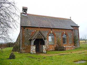 Grade II* listed buildings in Basingstoke and Deane - Image: Crux Easton Church Of St. Michael and All Angels geograph.org.uk 1772284