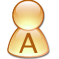Crystal Clear app personal orange A.png