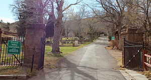 Crystal Valley Cemetery - Image: Crystal Valley Cemetery