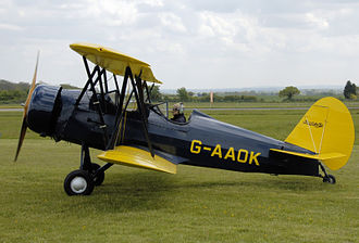 Curtiss-Wright - Curtiss-Wright Travel Air CW-12Q at Cotswold Airport, Gloucestershire, England