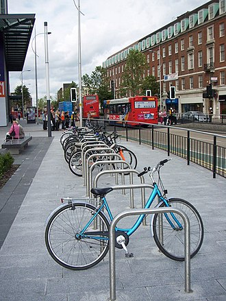 Bicycle parking rack - Sheffield racks