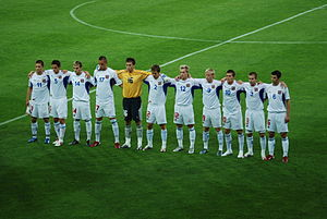 Czech Republic national under-21 football team - Image: Czech national football team U21 2007