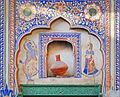 Décor mural (Sneh Ram Ladias Haveli, Mandawa) (8429101683).jpg