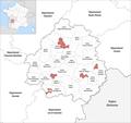 Département Dordogne Gemeindeveränderungen 2019.png