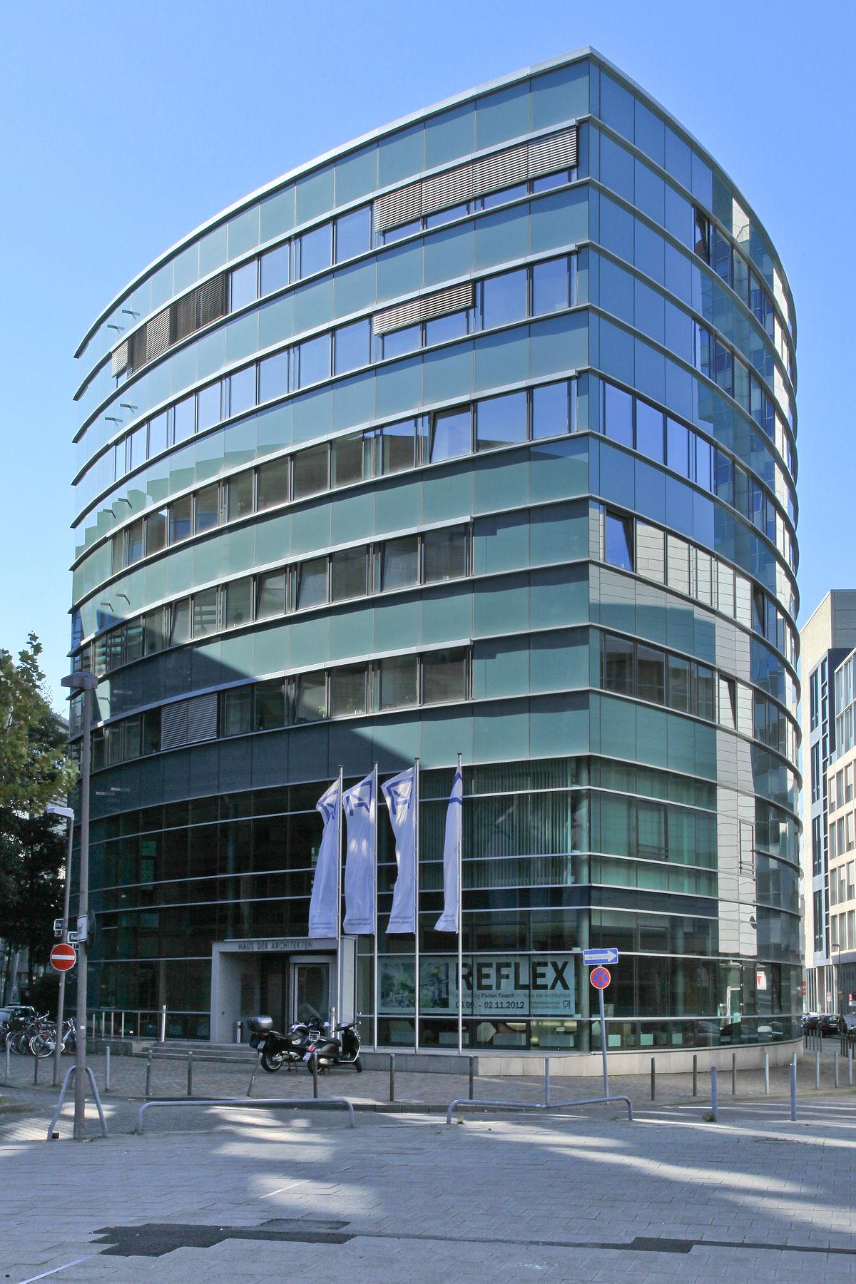 Architekten Düsseldorf haus der architekten düsseldorf