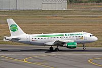 D-ASTY - A319 - Germania