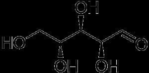 Pentose - Image: D arabinose
